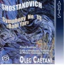 """Dmitri Schostakowitsch (1906-1975): Symphonie Nr.13 """"Babi Yar"""", Super Audio CD"""