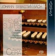 Johann Sebastian Bach (1685-1750): Französische Suiten BWV 812-817, 2 Super Audio CDs
