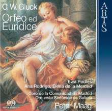 Christoph Willibald Gluck (1714-1787): Orpheus & Eurydike, 2 Super Audio CDs