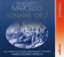 Benedetto Marcello (1686-1739): Sonaten op.2 Nr.1-12, 2 CDs