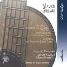 Mauro Giuliani (1781-1829): Gitarrenkonzerte op.30,36,70, 2 SACDs