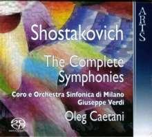 Dmitri Schostakowitsch (1906-1975): Symphonien Nr.1-15, 10 SACDs