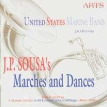 John Philip Sousa (1854-1932): Märsche & Tänze, CD