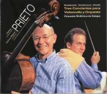 Carlos Prieto - Tres Conciertos para Violoncello y Orquesta, CD