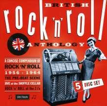 British Rock & Roll Anthology, 5 CDs