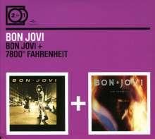 Bon Jovi: 2 For 1: Bon Jovi/7800 Degrees..., 2 CDs
