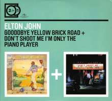 Elton John: Goodbye Yellow Brick Road / Don't Shoot Me I'm The Piano Player, 2 CDs