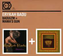Erykah Badu: 2 For 1: Baduizm/Mama's Gun, 2 CDs