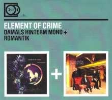 Element Of Crime: Damals hinterm Mond / Romantik (2 For 1), 2 CDs
