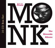 Thelonious Monk (1917-1982): All Monk - The Riverside Albums, 16 CDs