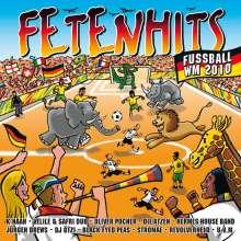 Fetenhits Fußball WM 2010, 2 CDs