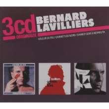 Bernard Lavilliers: 3 CD Originaux, 3 CDs