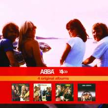 Abba: 4 Original Albums, 4 CDs