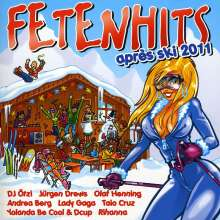 Fetenhits Apres Ski 2011, 2 CDs
