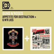 Guns N' Roses: 2 For 1: Appetite For Destruction / G N'R Lies, 2 CDs