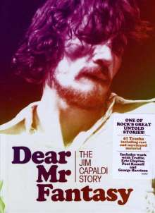 Jim Capaldi: Dear Mr Fantasy: The Jim Capaldi Story, 4 CDs