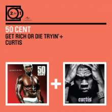 50 Cent: 2 For 1, 2 CDs