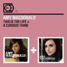 Amy Macdonald: This Is The Life / A Curious Thing, 2 CDs