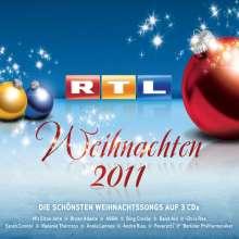 RTL Weihnachten 2011, 3 CDs