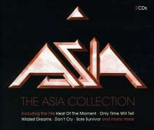 Asia: The Asia Collection, 3 CDs