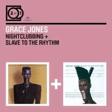 Grace Jones: 2 For 1: Nightclubbing / Slave To The Rhythm, 2 CDs