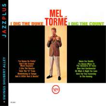 Mel Tormé (1925-1999): I Dig The Duke, I Dig The Count / Swings Shubert Alley, CD