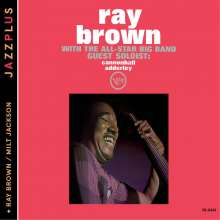 Cannonball Adderley & Milt Jackson: With The All Star Big Band / Ray Brown & Milt Jackson, CD