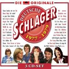 Deutsche Schlager 1977 - 1979, 3 CDs