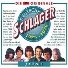 Deutsche Schlager 1973 - 1976, 3 CDs