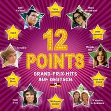 12 Points: Grand-Prix-Hits auf Deutsch Vol. 2, CD