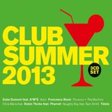 Club Summer 2013, 3 CDs