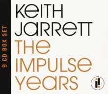 Keith Jarrett (geb. 1945): The Impulse Years 1973 - 1976, 9 CDs