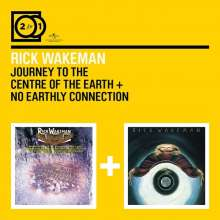 2 For 1: Journey To The Centre/No Earthly Con., 2 CDs