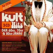 Deutsche Kulthits der 60er, 70er & 80er, 3 CDs
