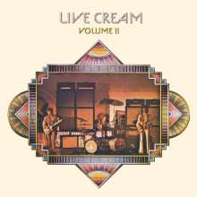 Cream: Live Cream Volume II (180g), LP