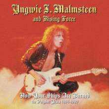 Yngwie Malmsteen: Now Your Ships Are Burned: The Polydor Years 1984 - 1990, 4 CDs