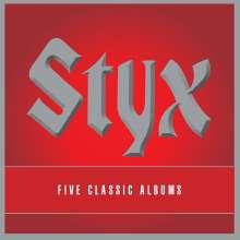 Styx: 5 Classic Albums, 5 CDs