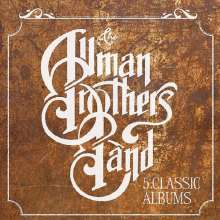 The Allman Brothers Band: 5 Classic Albums, 5 CDs