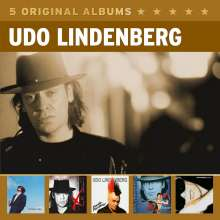 Udo Lindenberg: 5 Original Albums Vol.3, 5 CDs
