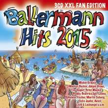 Ballermann Hits 2015 (XXL Fan Edition), 3 CDs