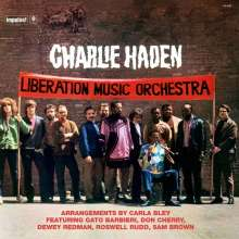 Charlie Haden (1937-2014): Liberation Music Orchestra (remastered) (180g) (Limited-Edition), LP