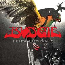 Budgie: The MCA Albums 1973 - 1975, 3 CDs