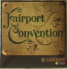Fairport Convention: 5 Classic Albums, 5 CDs