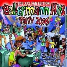Ballermann Hits Party 2016, 3 CDs