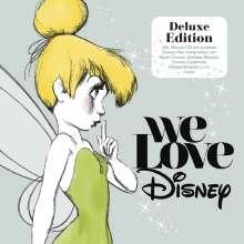 Filmmusik: We Love Disney (Deluxe Edition), 2 CDs