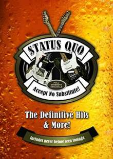 Status Quo: Accept No Substitute! - The Definitive Hits, 2 DVDs