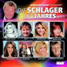 Bernhard Brink präsentiert: Die Schlager des Jahres 2015, 2 CDs