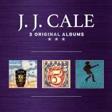 J.J. Cale: 3 Original Albums, 3 CDs