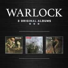 Warlock: 3 Original Albums, 3 CDs