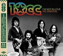 10CC: I'm Not In Love: The Essential, 3 CDs